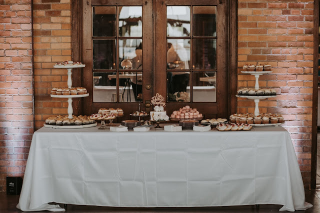 South Shore Park Pavilion - Wedding Dessert Table