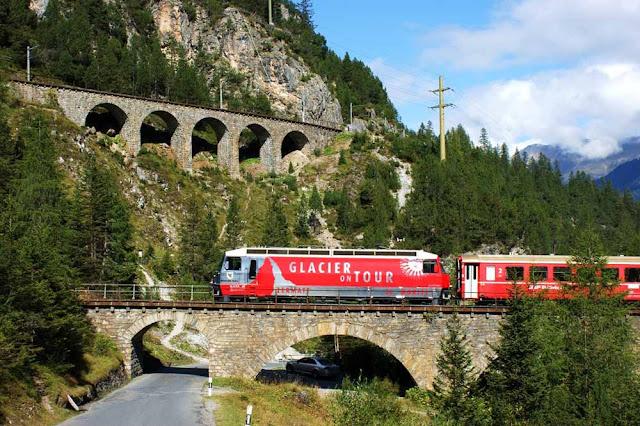 Ferrovia Albula – Suiça