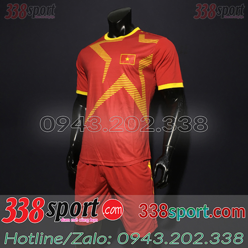 Áo Đội Tuyển Việt Nam 2020 Training 5 Màu Đỏ