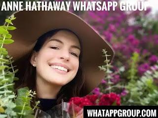 Anne Hathaway Fans WhatsApp Group Links