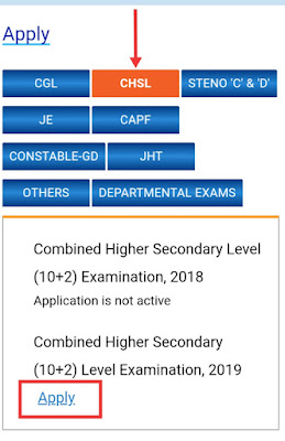 Ssc combined higher secondary Examination, SSC Recruitment, SSC Vacancy