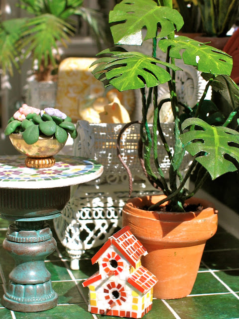 dollhouse plants