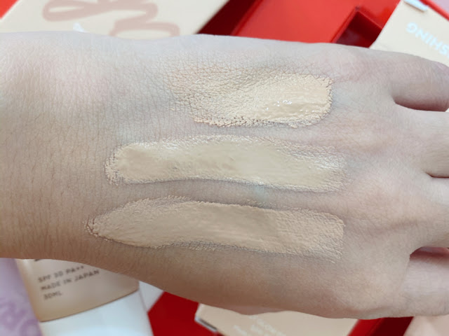 About Face Cosmetics Dream Creams Swatch