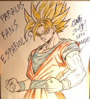 Como conseguir la firma de Masaki Satô en el Salón del Manga de Barcelona.