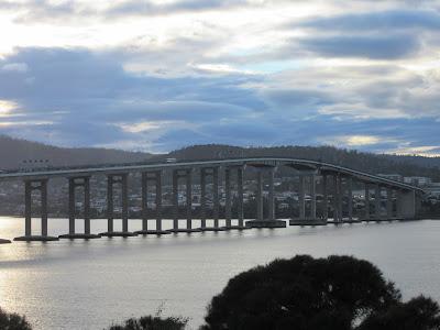 Tasman Bridge. Hobart, Tasmania