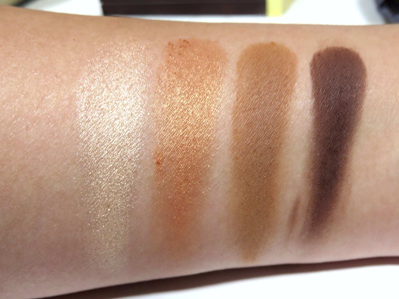 Tom Ford De La Creme Eye Color Quad Swatches