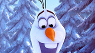 Frozen snowman olaf flower snow mobile wallpaper