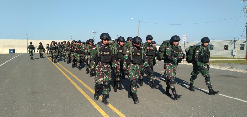 Prajurit Brigif Para Raider 18 Divif 2 Kostrad Tingkatkan Kemampuan Fisik Dalam Latihan JRTC