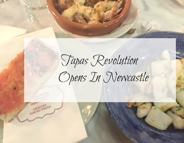 Tapas Revolution Newcastle