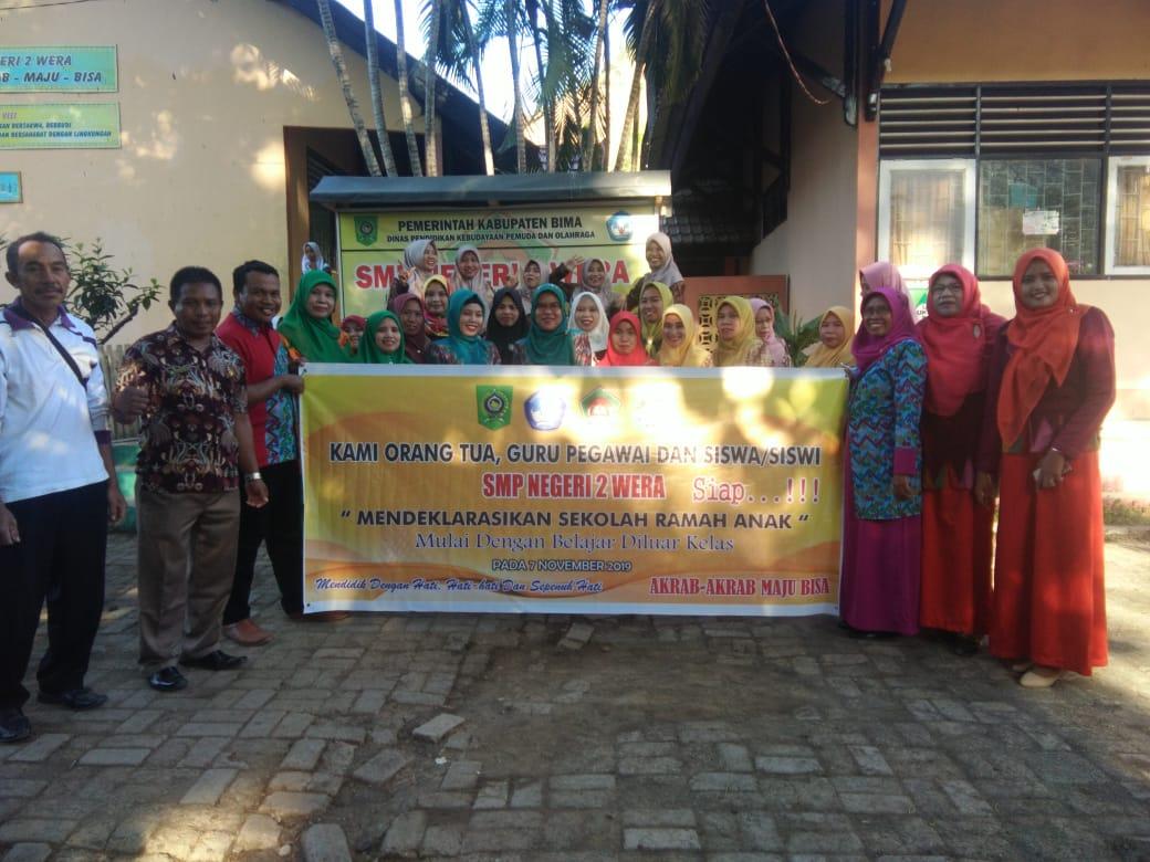 Smpn 2 Wera Deklarasikan Sekolah Ramah Anak Menuju Generasi