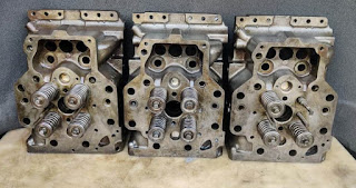 For sale CAT OEM 35 series 154-1612  Cyl Head QTY-3  E-mail: idealdieselsn@hotmail.com(Main Email) idealdieselsn@gmail.com