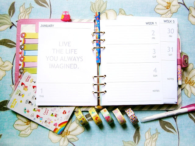 2015 Weekly Planner Inserts