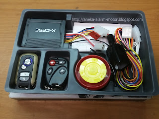 ALARM MOTOR X-CASE Double remote - silent mode