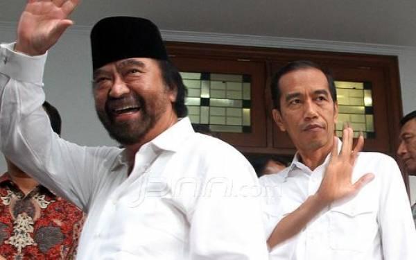 NasDem Beri Panggung untuk Anies, Surya Paloh Anggap Jokowi Masa Lalu?