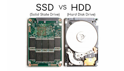 Difference Between HDD and SSD