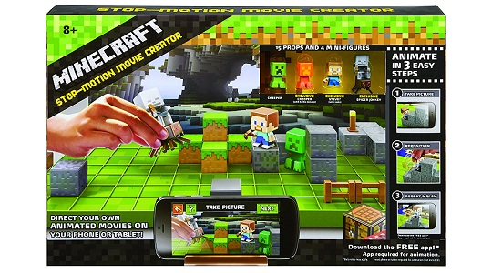 Minecraft Stop motion animation studio