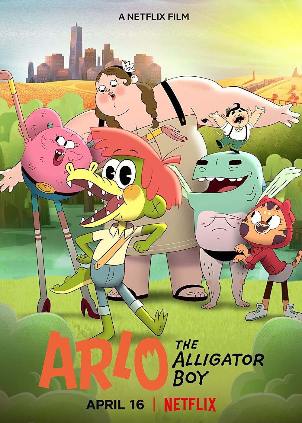 Arlo the Alligator Boy (2021) English Movie 720p HDRip 1.2GB Download