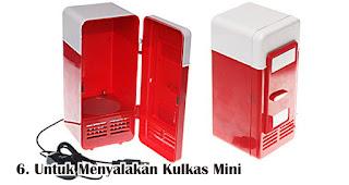 Manfaat Lain Powerbank Untuk Menyalakan Kulkas Mini