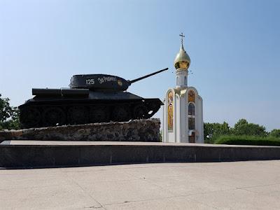 Monumento del tanque de Tiráspol