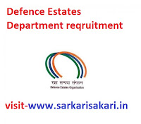 Defence Estates Department reqruitment