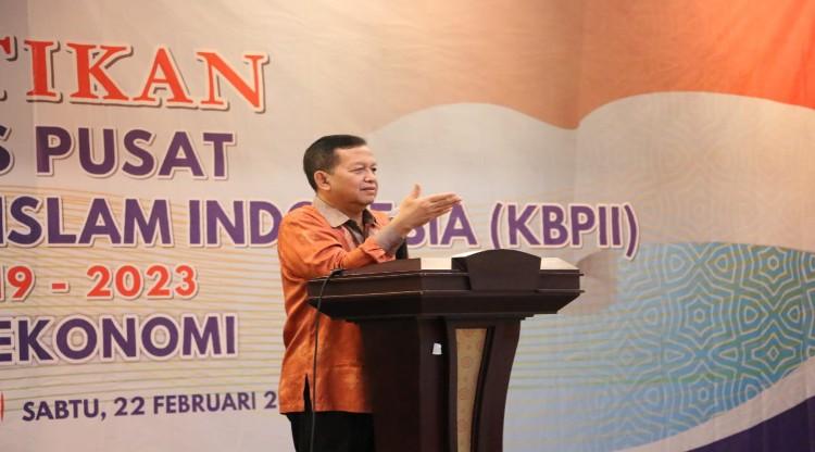 Pelantikan PP KB PII, Mengubah Mindset Umat dari Gerakan Politik Menuju Gerakan Ekonomi