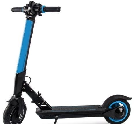 e scooter ohne straßenzulassung auf gehweg