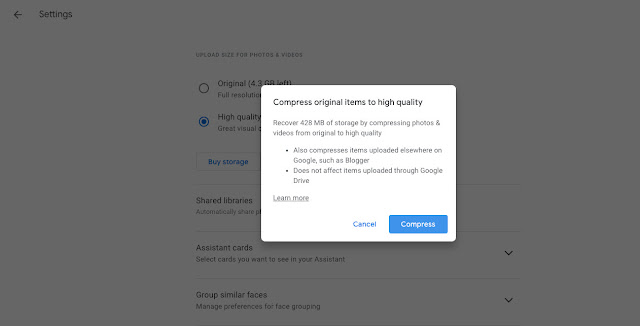 كيفية الحصول على مساحة أكبر في سعة تخزين Google