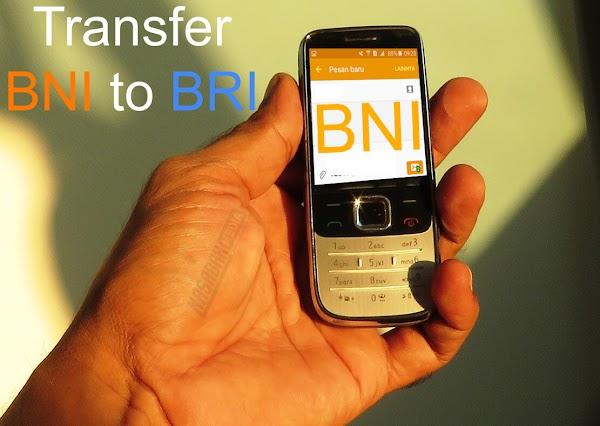 Cara Transfer SMS Banking BNI ke ATM BRI [Work]