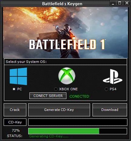 Battlefield 1 Keygen Serial Key Generator Pc Xbox One