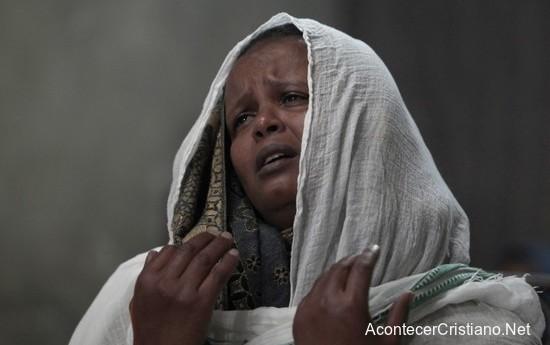 Cristiana perseguida por su fe en Etiopía