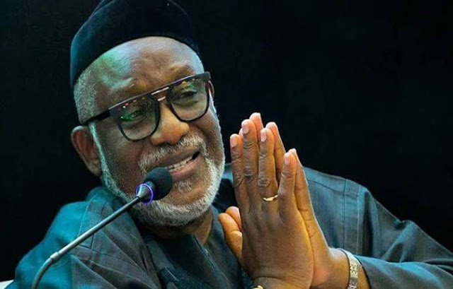 Akeredolu threatens lawsuit over family's interference allegation