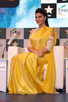 Gorgeous Jacqueline Fernandez  in yellow saree 43.JPG