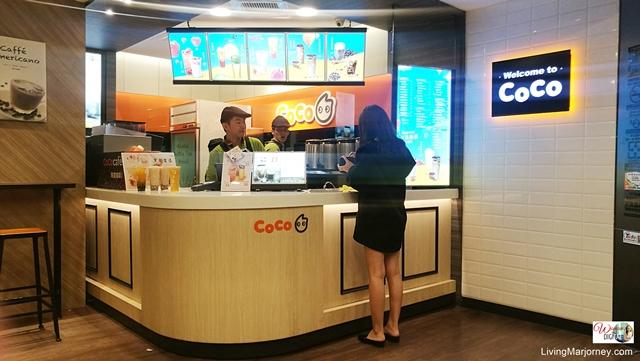 Coco Milk Tea Shop in Taipei