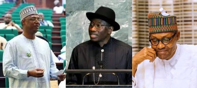 Jonathan Accepts Shagari Son's Apology Over Role In 2015 Election That Made Buhari Win