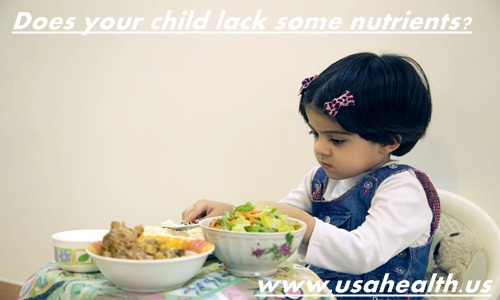 Does your child lack some nutrients?