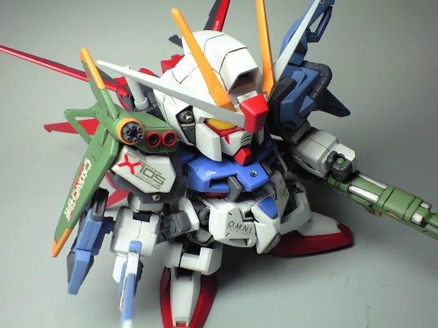 Gundam Guy Sd Super Strike Gundam Kai