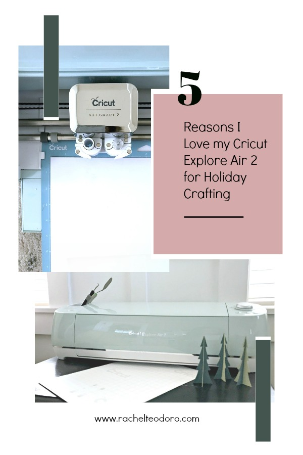 cricut cutting machine for holiday projects