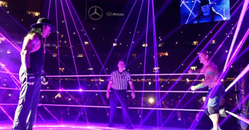The Undertaker gostaria que sua luta contra John Cena na WrestleMania 34 tivesse sido mais longa