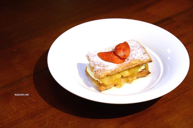 Caramelized Apple Mille-feuille