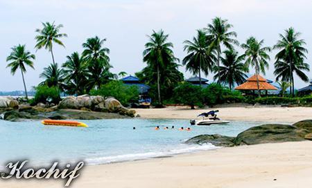 Gambar Pantai Parai Tenggiri (Bangka Belitung)