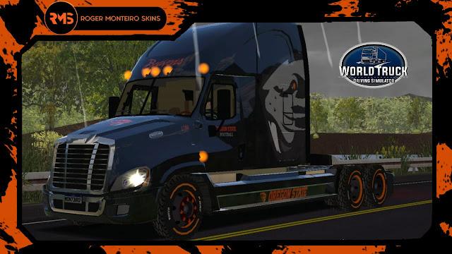 Freightliner Cascadia - Skins Freightliner - Freightliner Oregon State