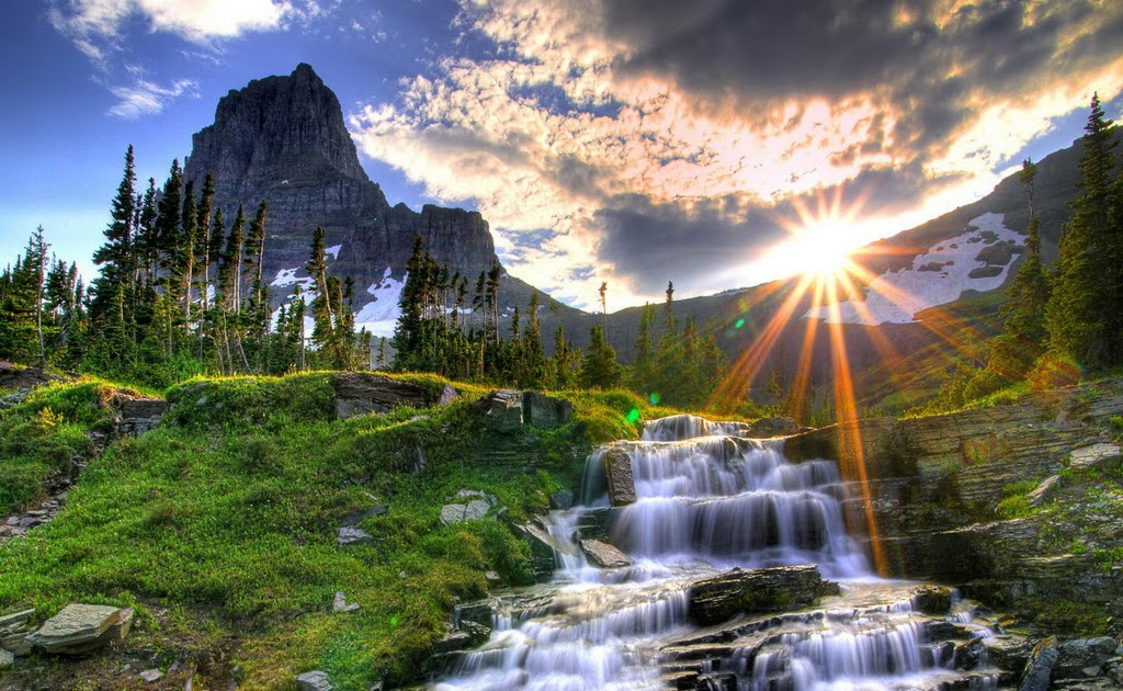 Waterfall High Quality Hd Wallpaper