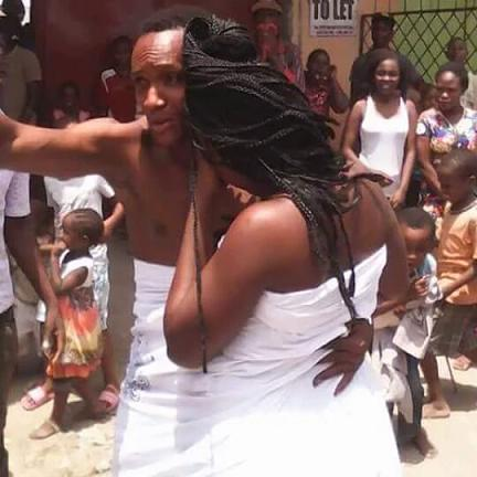 man glued woman genital sex kenya