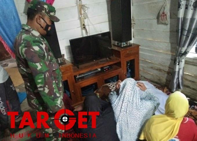 Bocah 9 Tahun Tenggelam di Kolam Buatan, Babinsa Ramil Birem Bayeun Bantu Evakuasi