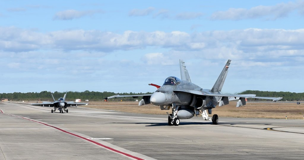 Canadian F18s Training To Launch Weapons Blog Before
