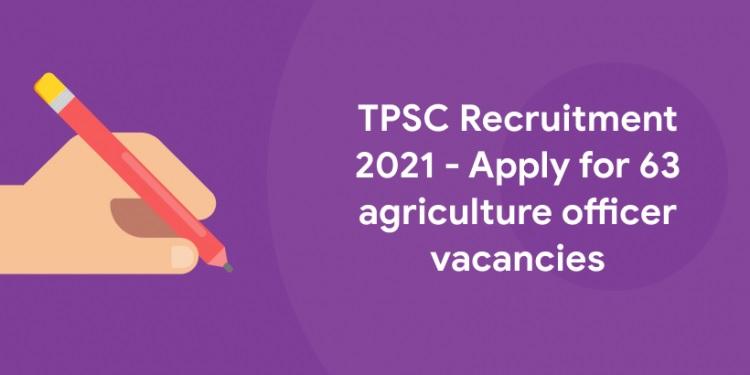 TPSC Recruitment 2021