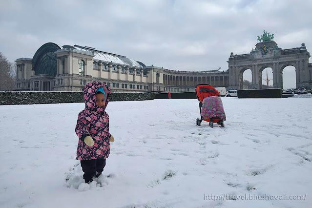 Brussels snow Belgium Weather