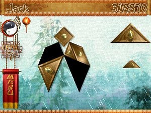 Temple of Tangram free puzzle PC game