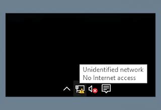 Mengatasi Wifi Windows No Internet Access