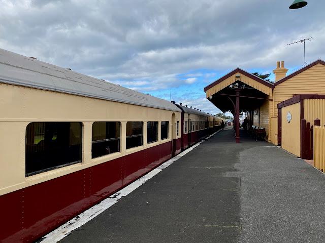 Bellarine Railway, Queenscliff train